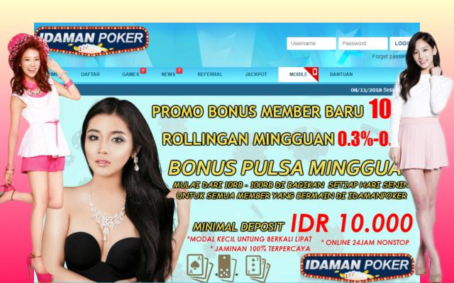 Pokeridaman.biz Agen Situs Judi Poker Online Terpercaya Indonesia